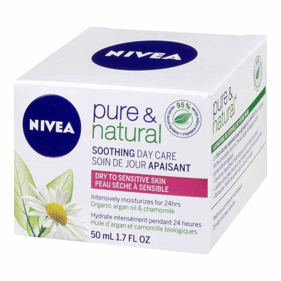 Nivea Visage Pure & Natural Soothing Day Care - 50ml