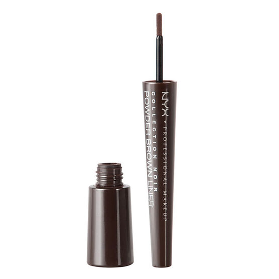 NYX Professional Makeup Collection Noir Powder Eyeliner - Powdery Brown