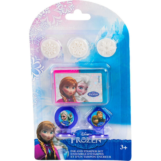 Disney Frozen Ink and Stamper Set