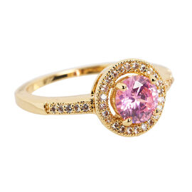 Marca 18K Gold Plated Ring - Size 8