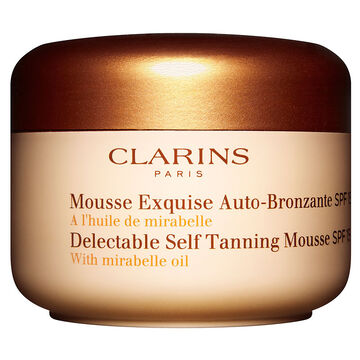 Clarins Delectable Self Tanning Mousse - SPF 15 - 125ml