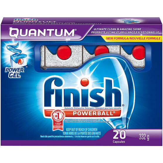 Finish Quantum All-in-One Powerballs - 20 Tablets