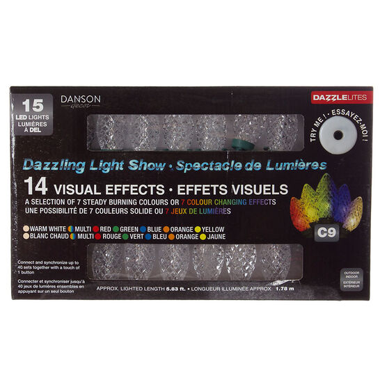 Danson LED DazzleLites - 15 lights - X99266