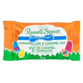 Russell Stover Marshmallow Egg - Caramel - 28g