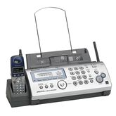 Panasonic 2.4GHz Cordless Phone/Fax/Copier with Digital Answering System - KX-FG2451 - Silver