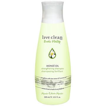 Live Clean Exotic Vitality Monoi Oil Shampoo - 350ml