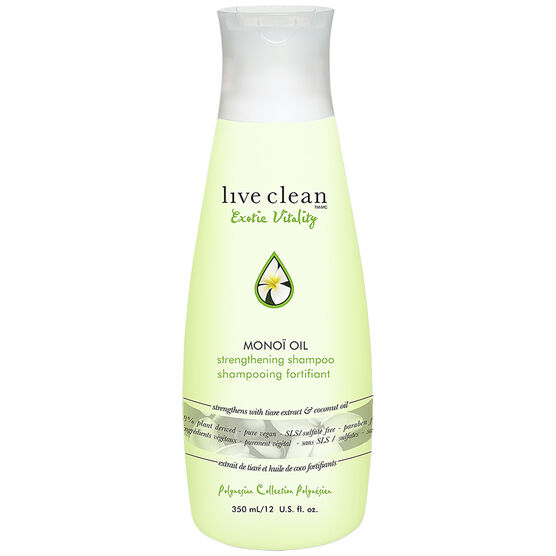 Live Clean Exotic Vitality Monoi Oil Shampoo - 350ml