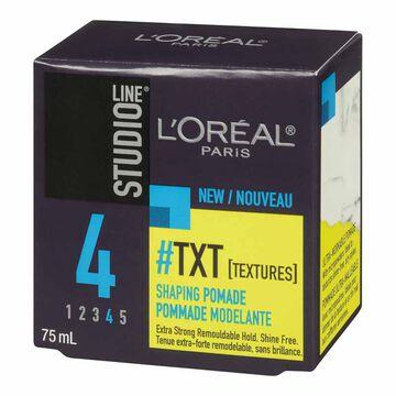 L'Oreal Studio Line TXT Shaping Pomade - 75ml