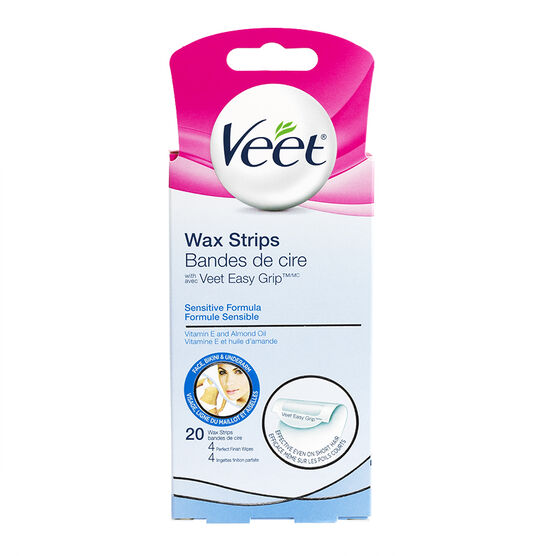 Veet Facial Ready to Use Wax Strips - 20's