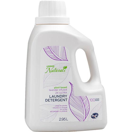 London Naturals 2X Ultra HE Laundry Detergent - Lavender - 2.95L