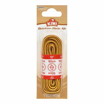 Kiwi Round Woven Boot Laces - 72 inch