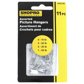 Shopro Assorted Picture Hangers - 11's