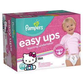 Pampers Easy Ups Training Underwear - 3T/4T - 72ct