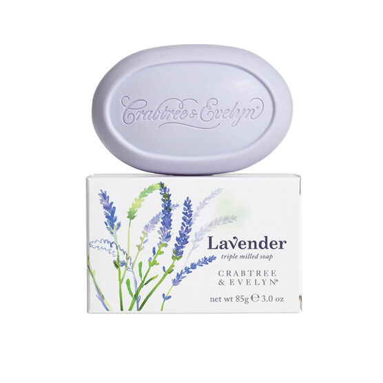 Crabtree & Evelyn Lavender Triple Milled Soap - 85g