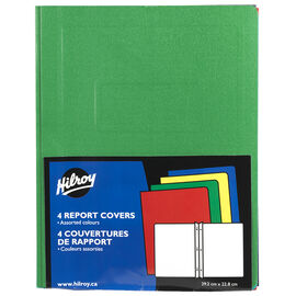Hilroy Report Covers - 4 pack