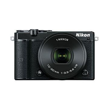 Nikon 1 J5 with 10-30mm VR Lens - Black - 34256