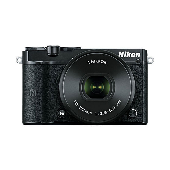 Nikon 1 J5 with 10-30mm VR Lens - Black - 34256