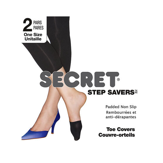 Secret Step Saver Toe Cover - Nude - 2 pair