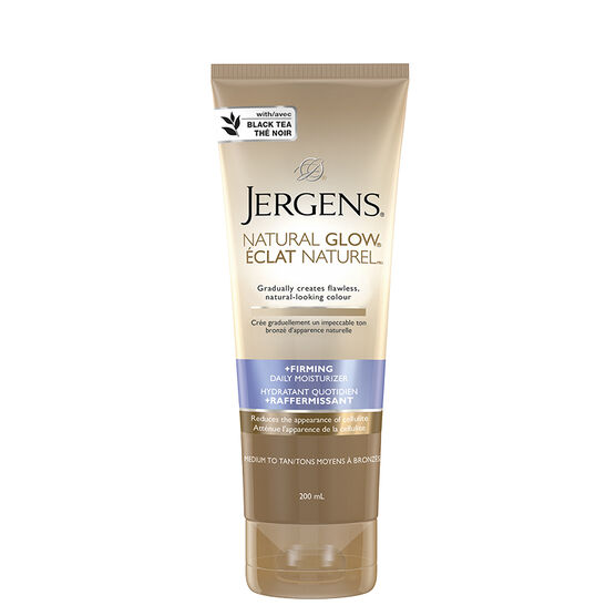 Jergens Natural Glow Daily Moisturizer - Medium to Tan Skin Tones - 200ml