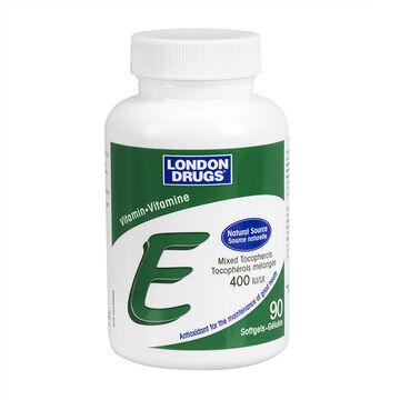 London Drugs Vitamin E - 400IU - 90's