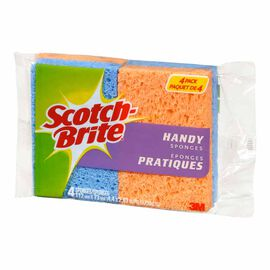 Scotch-Brite Handy Sponge - 4 pack