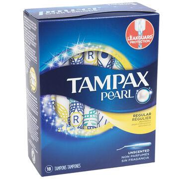 Tampax Pearl - Regular - 18's