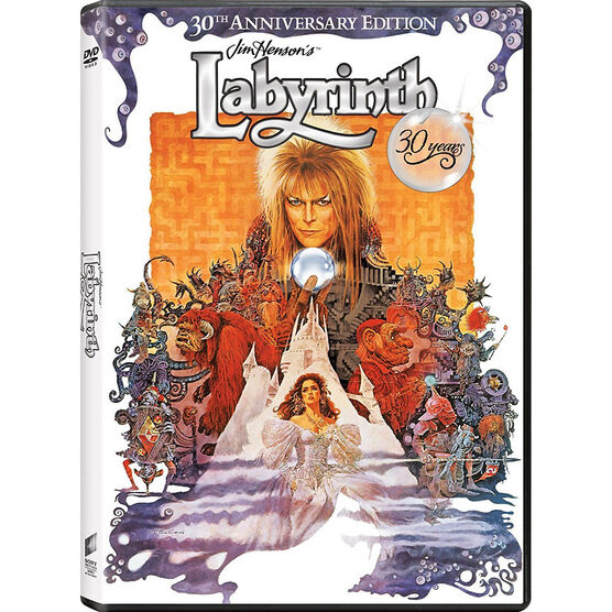Labyrinth: 30th Anniversary Edition - DVD