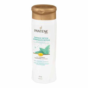 Pantene Damage Detox Daily Revitalizing Shampoo - 375 ml