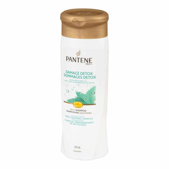 Pantene Damage Detox Daily Revitalizing Shampoo - 375 ml