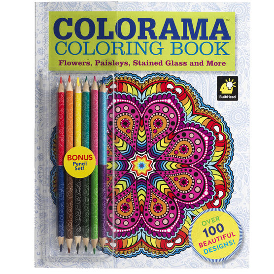 Colorama Colouring Book