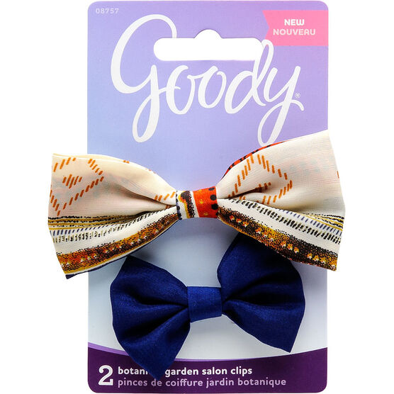 Goody FashioNow Botanical garden Salon Clips Bowtie - 8757