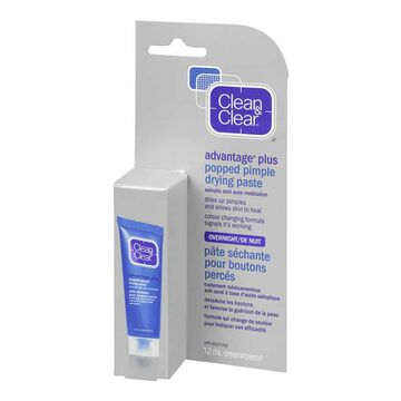 Clean & Clear Advantage Plus Popped Pimple Drying Paste - 12ml