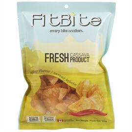 FitBite Fresh Cassava Chips - Spicy - 100g