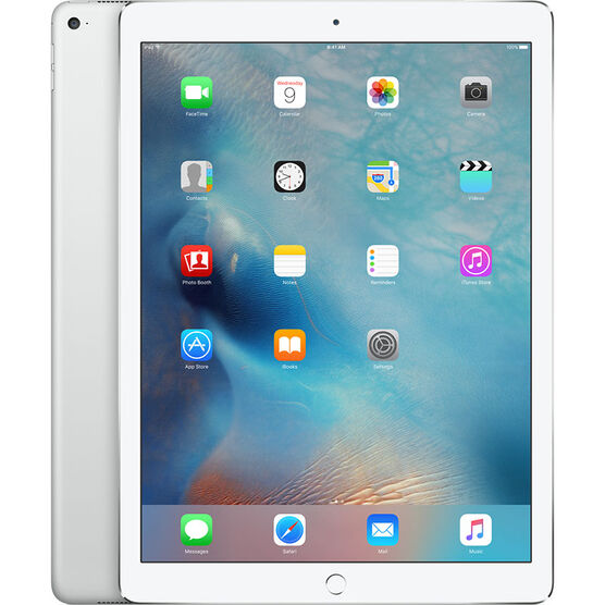 iPad Pro 12.9-inch 128GB with Wi-Fi + Cellular - Silver - ML2J2CL/A