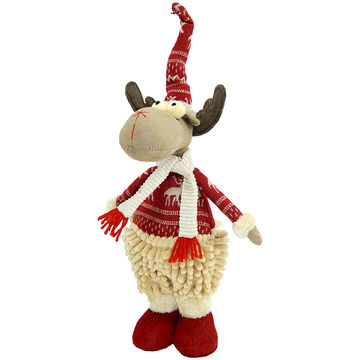 Christmas Forever Plush Reindeer - 13 inch