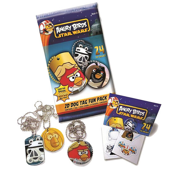 Angry Birds Star Wars 2D Dog Tag Fun Pack - Mystery pack