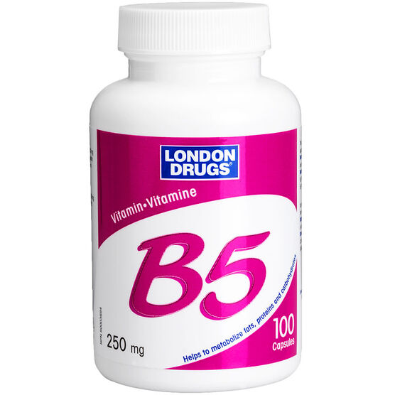 London Drugs Vitamin B5 - 250mg - 100's