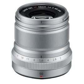 PRE-ORDER: Fuji XF 50mm F2 R WR Lens - Silver - 600018211