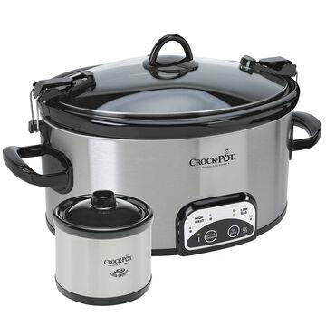 Crock-Pot Travel Slow Cooker - 6qt. - SCCPVL603S