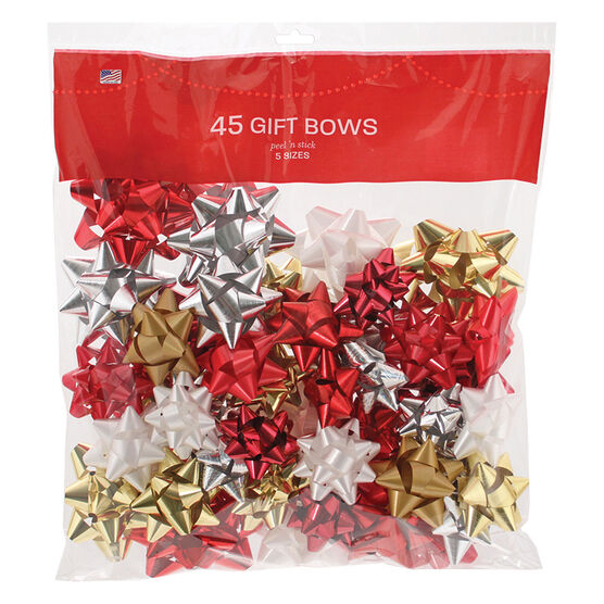 Christmas Luxury Bows - 45 pieces