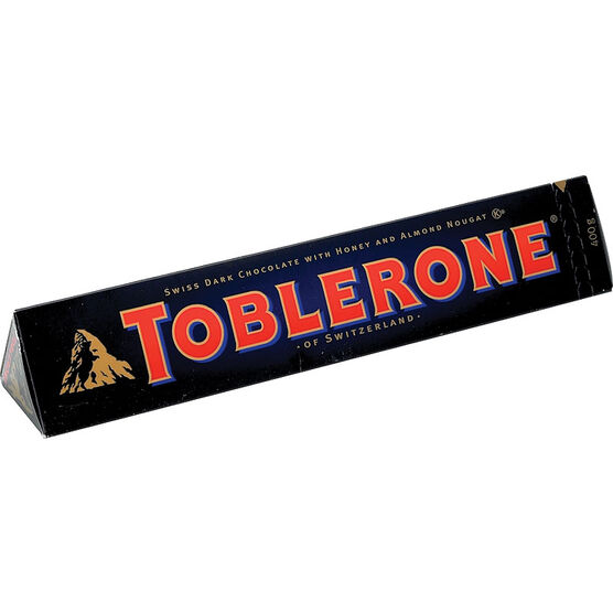 Toblerone Bittersweet Chocolate - 400g