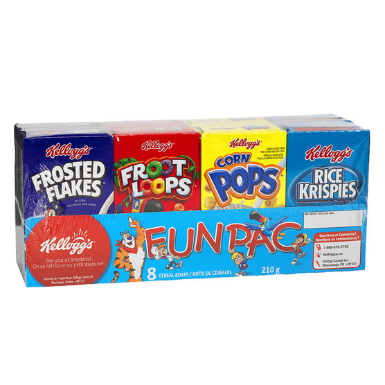 Kellogg's Fun Pack - 210g