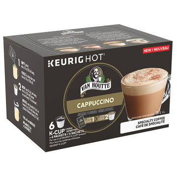 Van Houtte K-Cup Coffee Pods - Cappuccino - 6's
