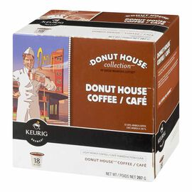 Keurig K-Cup Green Mountain Coffee Pods - Donut House Blend - 18's
