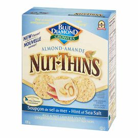 Blue Diamond Nut-Thins - Almond with Sea Salt - 120g