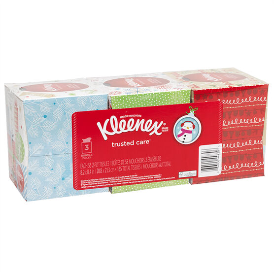 Kleenex Holiday Casuals - 3 x 55's
