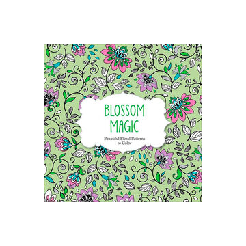 Beautiful Floral Patterns to Color - Blossom Magic