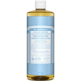 Dr. Bronner's 18-IN-1 Pure-Castile Liquid Soap - Baby - 964ml