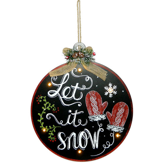 Christmas Forever Let It Snow LED Sign - XM-JC5089