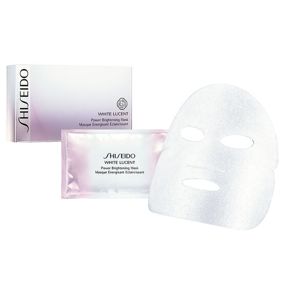 Shiseido White Lucent Power Brightening Mask - 6's
